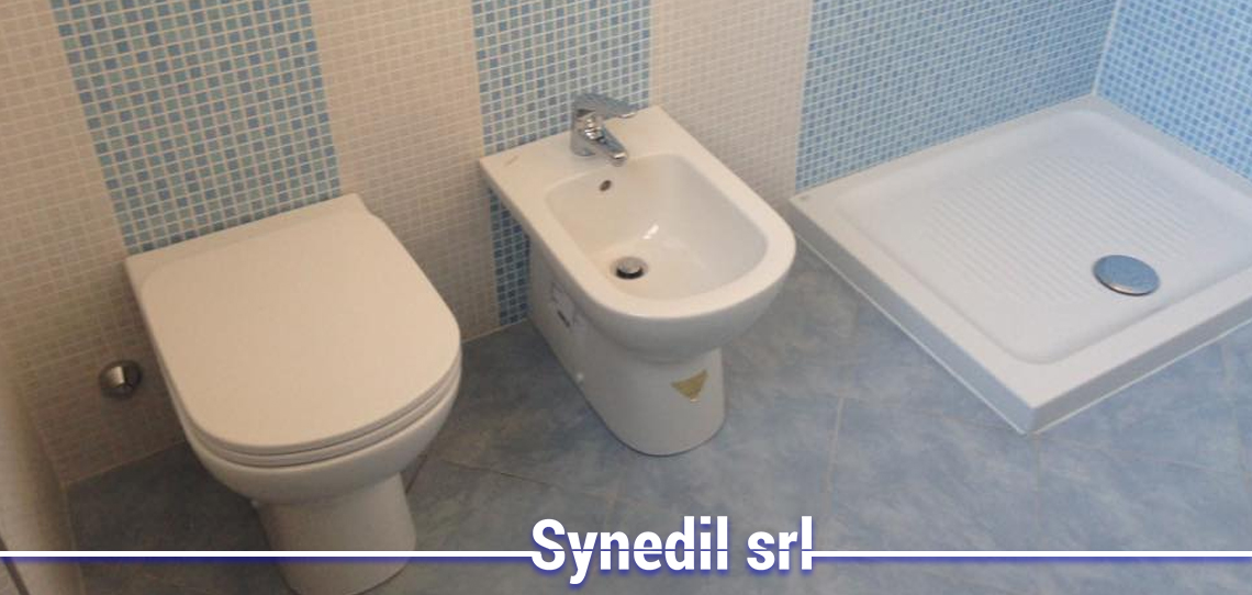 Synedil effettua Il Rifacimento Bagno De Angeli Milano
