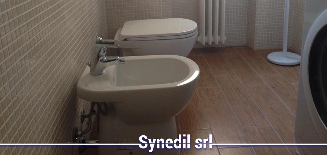 Synedil effettua Ristrutturazione Bagno Chiavi In Mano Via Padova Milano